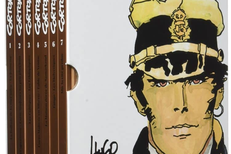 Emiliano Ventura, MediumPoesia, fumetto, marco steiner, corto maltese, letteratura, dylan thomas, poesia, tavola, disegno, vignetta, nuages edizioni, Hugo Pratt